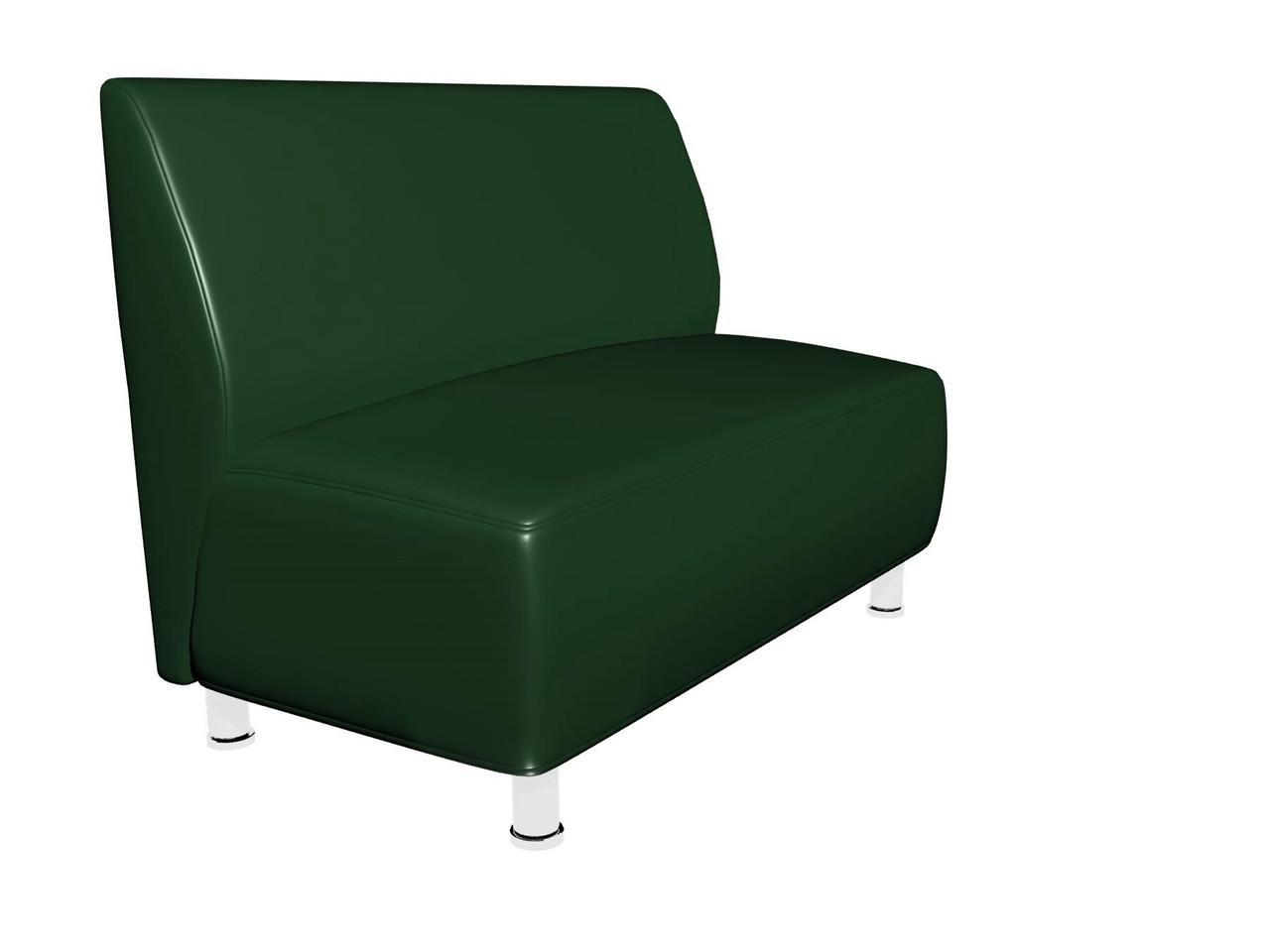 Диван Актив Sentenzo 1200x700x900 мм Темно-зелений (2324894224)