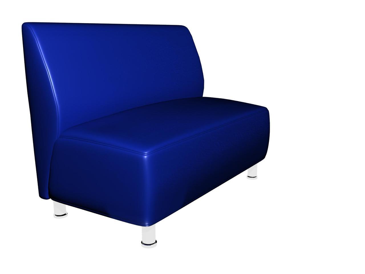 Диван Актив Sentenzo 1200x700x900 мм Синій (23248942212)