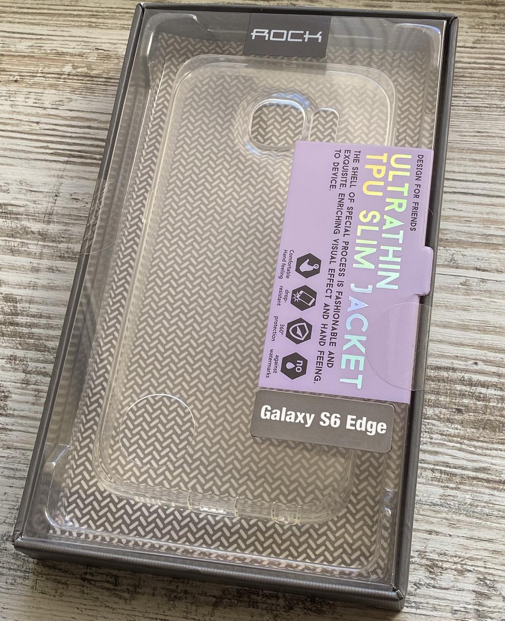 Чехол для Samsung Galaxy S6 Edge G925 Rock силикон
