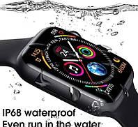 IWO W26 Смарт-часы (как Apple Watch Series 6 1:1) Smart Bracelet Black Черные