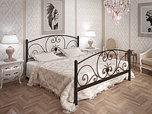Ліжко Tenero Німфея 1800х1900 мм Чорний оксамит (100000191)