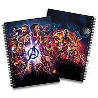 Скетчбук Мстители. Война бесконечности   Avengers. Infinity War 01