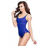Жіночий цільний купальник Aqua Speed Cora 38 Синьо-жовтий (aqs063), фото 2