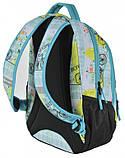 Молодежный рюкзак Paso 22 л Разноцветный (17-2708UF), фото 3