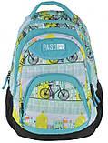 Молодежный рюкзак Paso 22 л Разноцветный (17-2708UF), фото 5