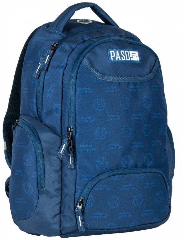 Рюкзак молодіжний Paso 22 л Синій (17-2908UN)