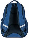 Рюкзак молодіжний Paso 22 л Синій (17-2908UN), фото 2