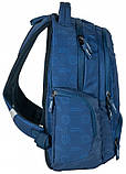 Рюкзак молодіжний Paso 22 л Синій (17-2908UN), фото 5