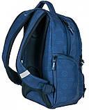 Рюкзак молодіжний Paso 22 л Синій (17-2908UN), фото 6