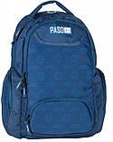 Рюкзак молодіжний Paso 22 л Синій (17-2908UN), фото 7