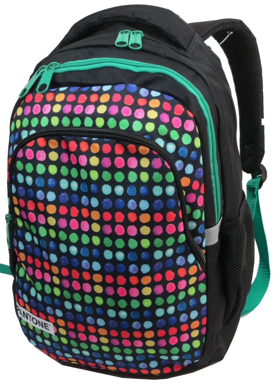 Молодежный рюкзак Paso 18 л Разноцветный (00-699PAN)