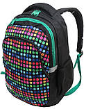 Молодежный рюкзак Paso 18 л Разноцветный (00-699PAN), фото 3