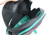 Молодежный рюкзак Paso 18 л Разноцветный (00-699PAN), фото 6
