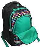 Молодежный рюкзак Paso 18 л Разноцветный (00-699PAN), фото 7