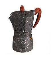 Кофеварка гейзерная А-Плюс 2086 9 чашек 0.39 л Стальная