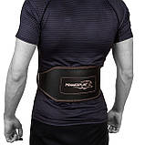 Пояс для важкої атлетики PowerPlay 5053 S Чорно-червоний (PP_5053_S_Black), фото 7