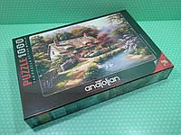 Пазлы Anatolian 1000 элементов. Коттедж на берегу озера (с утками)