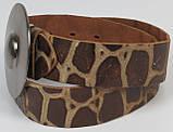 Ремень женский Vanzetti кожаный 106 см Коричневый (100017), фото 2