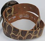 Ремень женский Vanzetti кожаный 106 см Коричневый (100017), фото 3