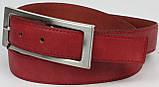 Жіночий ремінь Vanzetti шкіряний 109 см Червоний (100072), фото 2