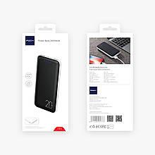Портативний зарядний пристрій Rock Power Bank 20000mAh Чорний (687681870)