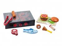 Деревянный игрушечный гриль PlayTive 13 эл Германия, фото 1