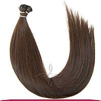 Натуральные европейские волосы на капсулах 45-50 см 100 грамм, Горький шоколад №02