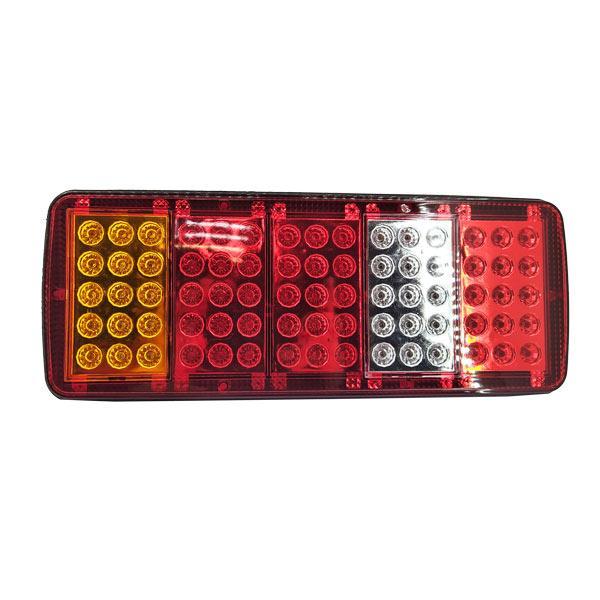 Ліхтар задній універсальний на LED-діодах 12 Вольт на вантажівки, причепи та напівпричепи 340х135х30