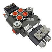 Гидрораспределитель Badestnost 02Z80 AA ES3 24VDC G с электроклапанами Бадещность