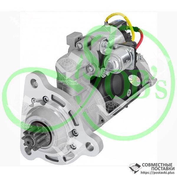 Стартер CLAAS редукторный 12В 4,2 кВт (комбайн Claas дв-ль ОМ421, 8579) Jubana 123708320 (оригинал)