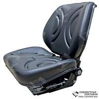 Сидіння тракторне універсальне покращене, крісло з регулюванням ваги водія (Туреччина), фото 1