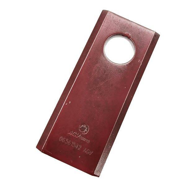 Нож роторной косилки Z-169 AGV (Германия) 06561542 96 x 40 x 3 d=19 мм