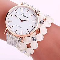 Жіночі наручні годинники GENEVA CREATIVE WHITE 1305