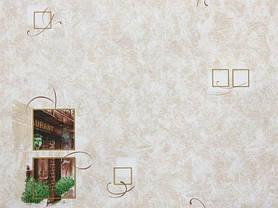 Обои на стену, минимум рисунка, бежевый, бумажные,  0,53*10м, ограниченное количество, фото 2
