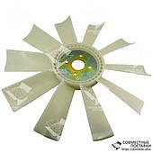 Крыльчатка вентилятора ЯМЗ-236, ЯМЗ-238 238-1308012 (пластик, d=550 мм, 10 лопастей шириной 83 мм)