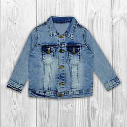 Пиджак джинсовый на пуговицах 8880-11, SZG