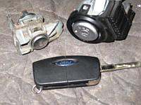 Комплект личинок бу двери, зажигания, бензобака для Форд Фокус 2 (Ford Focus 2)