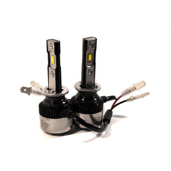 Комплект LED ламп HeadLight FocusV H1 (P14,5s) 40W 12V з активним охолодженням