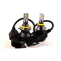 Комплект LED ламп HeadLight F1X HB4 (P22d) 52W 12V 8400Lm з активним охолодженням (збільшена світловіддача), фото 1