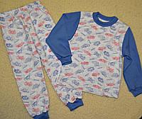 Пижамы на мальчиков,с легким начесом,рост 86-92.92-98.98-104.104-110.110-116