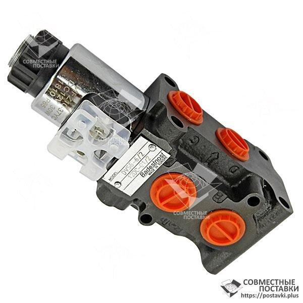 Клапан 50 л електричний під розподільники Р40 і Р80, НШ32 і НШ50 - 12В або 24В пр-во Бадещность (Болгарія)