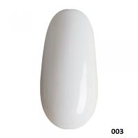 Mileo цветной 3D гель для рисования и лепки белый №3, 10ml