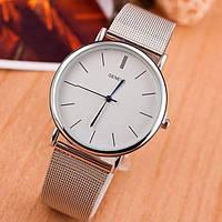 Жіночі годинники Geneva Steel Silver (1366)