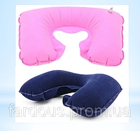 Надувная подушка для шеи, для путешествий, полета и отдыха