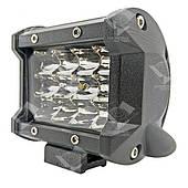 Дополнительная светодиодная фара рассеянного (ближнего) света 36W/60 прямоугольная 10-30V