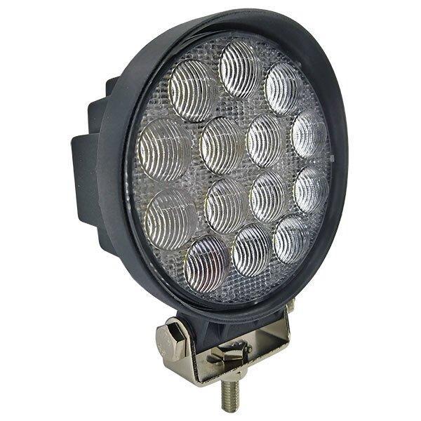 Додаткова світлодіодна фара (3D-лінза) розсіяного (ближнього) світла 42W/60 кругла 10-30V
