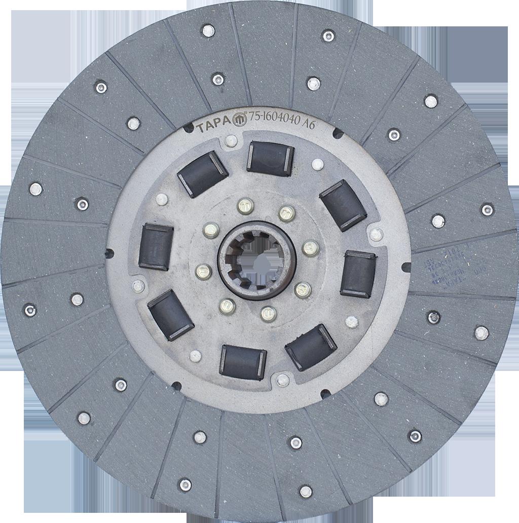 Диск 75-1604040 А6 ведомый главной муфты сцепления ЮМЗ-80 ТАРА