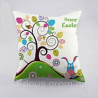 Декоративная подушка с принтом. Пасха