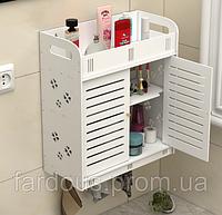 Навісний шафка для ванної кімнати. Скринька для косметики, прикраса і пр. дрібниць