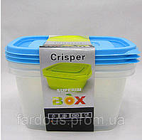 Набор пищевых контейнеров с клапаном 3 шт